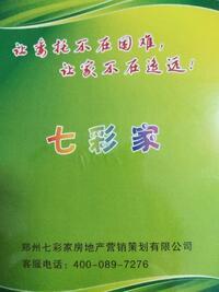 郑州七彩家房地产营销策划有限公司第一分公司