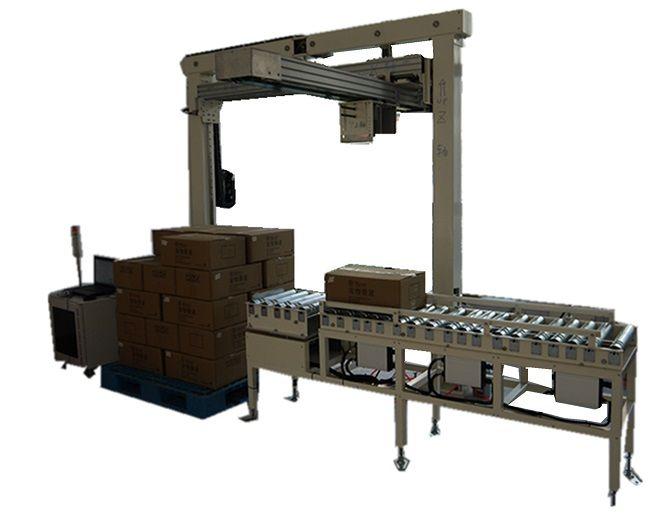 我公司主要产品全自动伺服码垛机具有如下主要特征: 五轴全部采用日本三菱进口伺服马达系统,采用日本原装减速机,连接部分采用齿轮传动,安全可靠。采用全进口控制系统,拥有独立模型计算,防止运动过程产生冲击。...