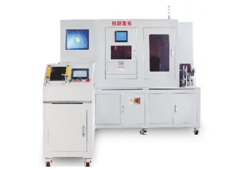 """激光焊接自動化系統: 連續光纖激 光焊接機是一種新型的焊接方式,一般是由""""焊接主機""""和""""焊接工作臺""""配套組成,將激光束耦合至光纖,經過遠距離的傳輸后,經過處理為..."""
