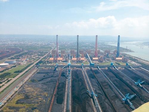 台中发电厂清晨起火 台电称不影响供电
