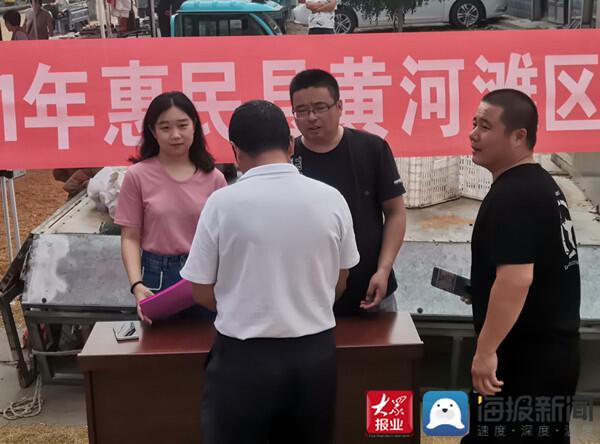 惠民县姜楼镇开展企业招工宣传活动