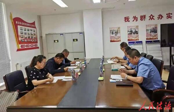 大兴安岭检察分院常务副检察长张瑞良深入加格达奇区人民检察院推进指导工作